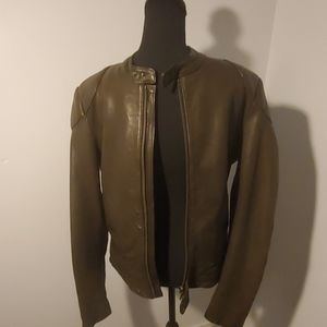 Hugo Boss Lumax Lamb Leather Racer Jacket